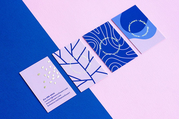 Personal-Identity - 36+ Impressive Business Card Designs With Visual Impact [year]