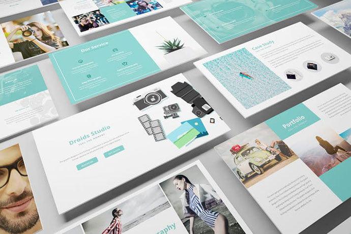 Photography - 36+ Nice PowerPoint Portfolio Showcasing Templates [year]