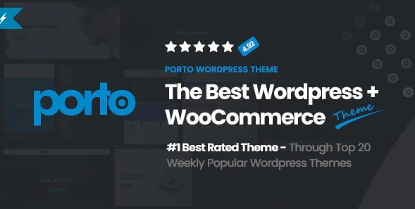 Porto - 36+ Great Product Filtering WordPress E-commerce Themes [year]