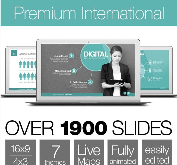 Premium-International - 36+ Awesome Business PowerPoint Templates Download [year]