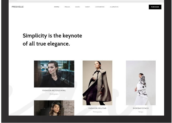 Prequelle - 51+ Awesome WordPress Lookbook Ecommerce Themes [year]