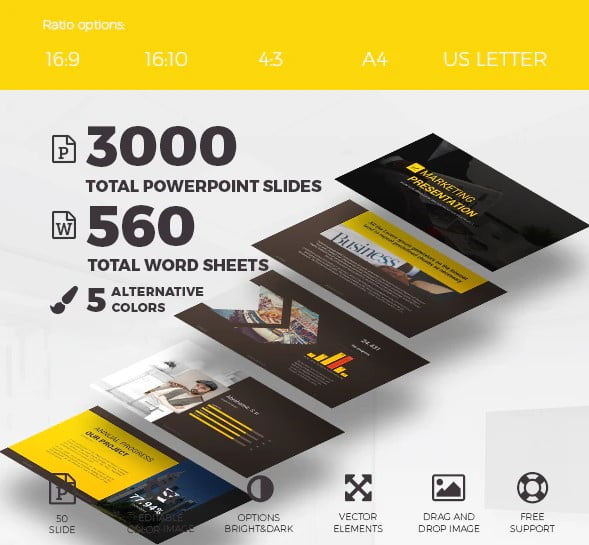 Presentation-Template - 36+ Amazing Finance PowerPoint Templates Download [year]