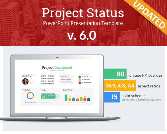 Project-Status - 36+ Awesome Business PowerPoint Templates Download [year]