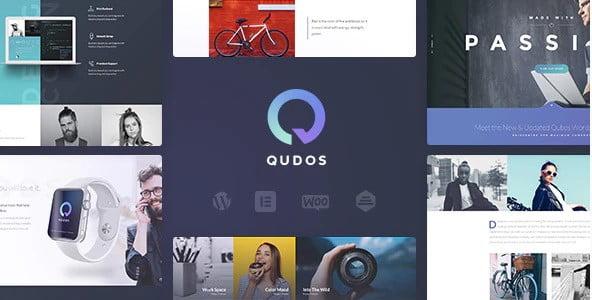 Qudos - 35+ Lovely WordPress Elementor Portfolio Themes [year]