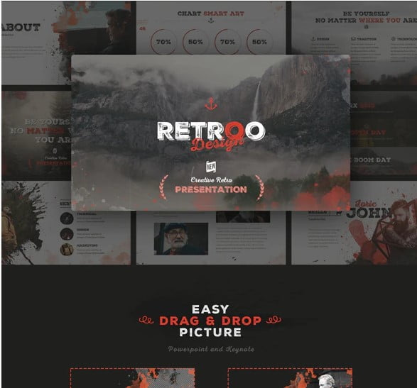 RETROO - 36+ Awesome Abstract PowerPoint Templates Download [year]