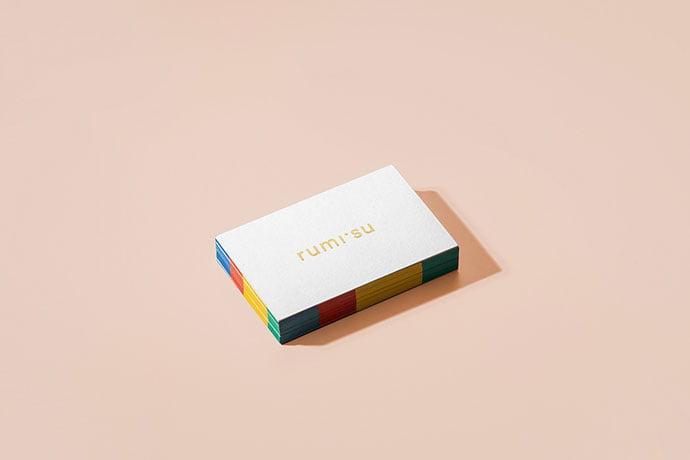 Rumisu - 36+ Impressive Business Card Designs With Visual Impact [year]