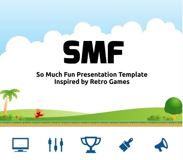 SMF-Powerpoint - 36+ Awesome Abstract PowerPoint Templates Download [year]