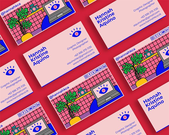 Self-Branding - 36+ Impressive Business Card Designs With Visual Impact [year]