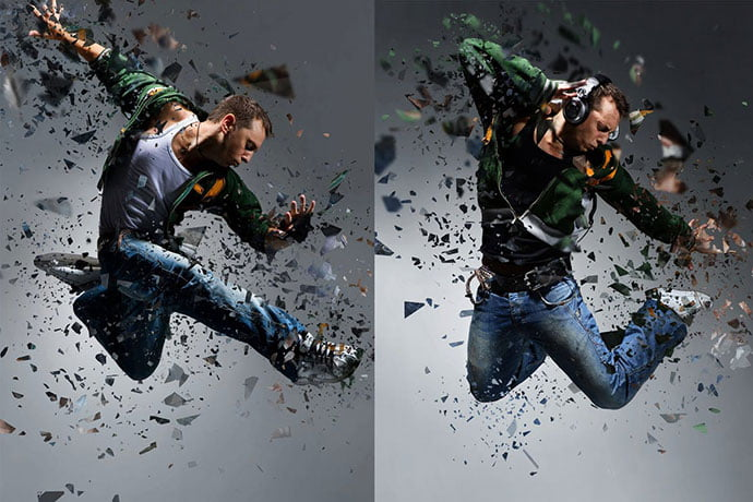 Shatter-2-Photoshop-Action - 30+ Impressive Thanos Dust Effect Photoshop Actions [year]