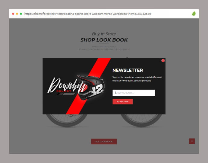 Spatina - 36+ Important WordPress Ecommerce Themes For Popup Designs [year]