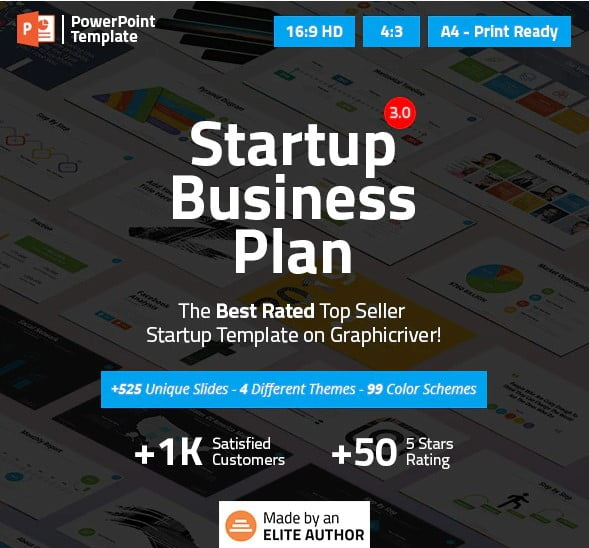 Startup-Business - 36+ Awesome Business PowerPoint Templates Download [year]
