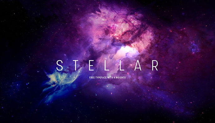 Stellar - 38+ Free Pretty Headline Fonts For Designer [year]