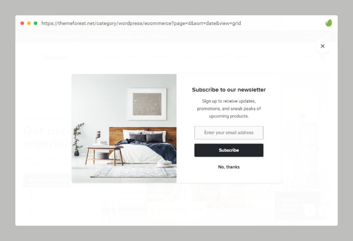 Stockie - 36+ Important WordPress Ecommerce Themes For Popup Designs [year]