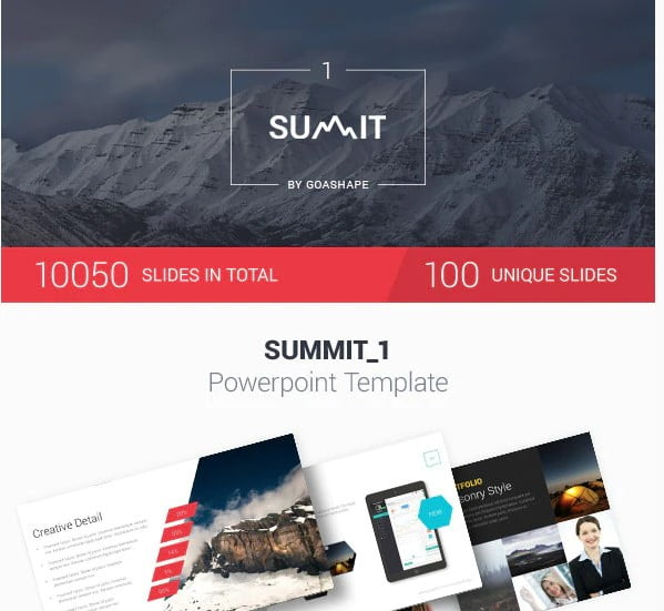 Summit-1-PowerPoint - 36+ Awesome Business PowerPoint Templates Download [year]