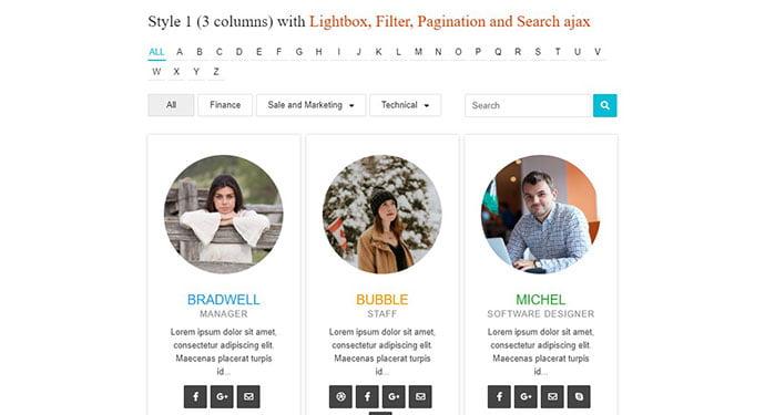 TeamPress - 35+ Important WordPress Portfolio Plugins for Professional [year]