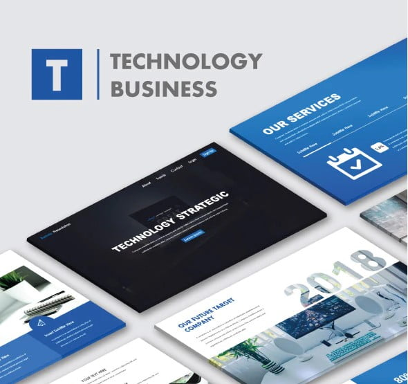 Technology-Business - 36+ Amazing Finance PowerPoint Templates Download [year]