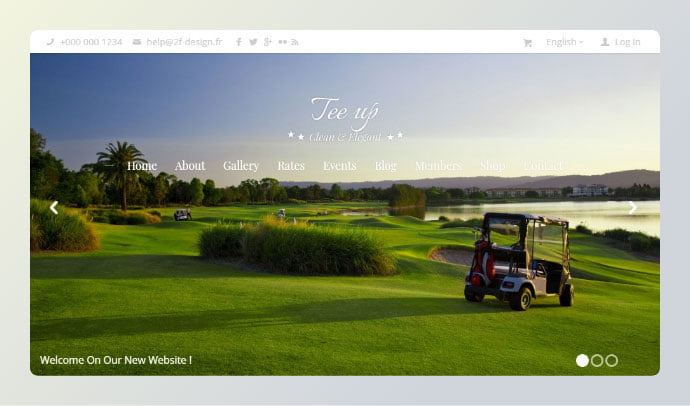 Tee-Up - 34+ Awesome WordPress Club Themes to Create Your Website [year]
