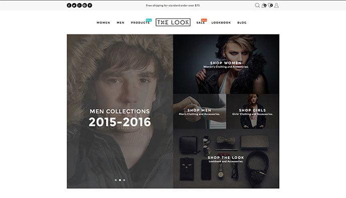 The-Look-1 - 34+ Impressive WordPress Minimal eCommerce Themes [year]