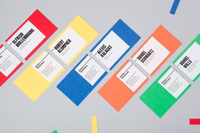 Urban-think-Tank - 36+ Impressive Business Card Designs With Visual Impact [year]