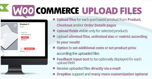 WooCommerce-3 - 25+ Important WordPress File Uploader Plugins [year]