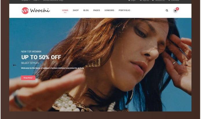 Woochi - 51+ Awesome WordPress Lookbook Ecommerce Themes [year]