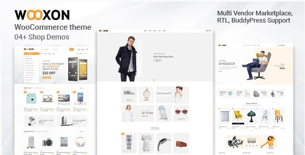 Wooxon - 36+ Great Product Filtering WordPress E-commerce Themes [year]