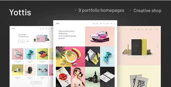 Yottis - 35+ Lovely WordPress Elementor Portfolio Themes [year]