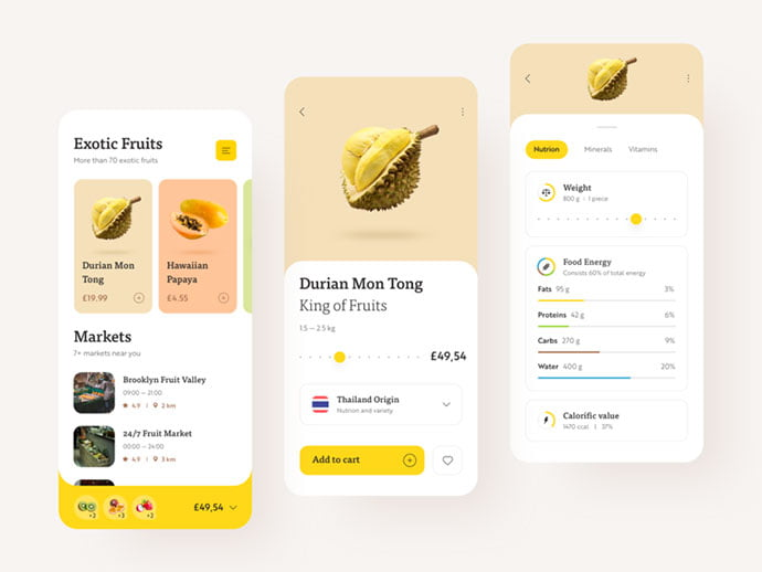 food-drink-app-ui-design-14 - 51+ Stunning Food & Drink Mobile App UI Design Sample [year]