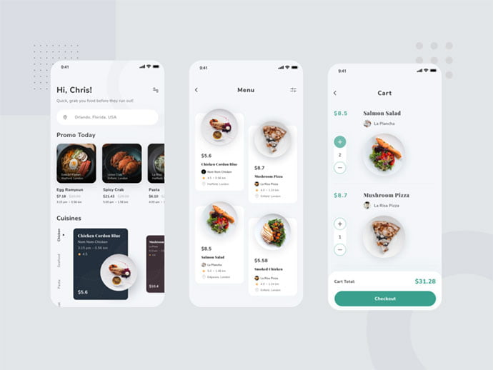food-drink-app-ui-design-17 - 51+ Stunning Food & Drink Mobile App UI Design Sample [year]