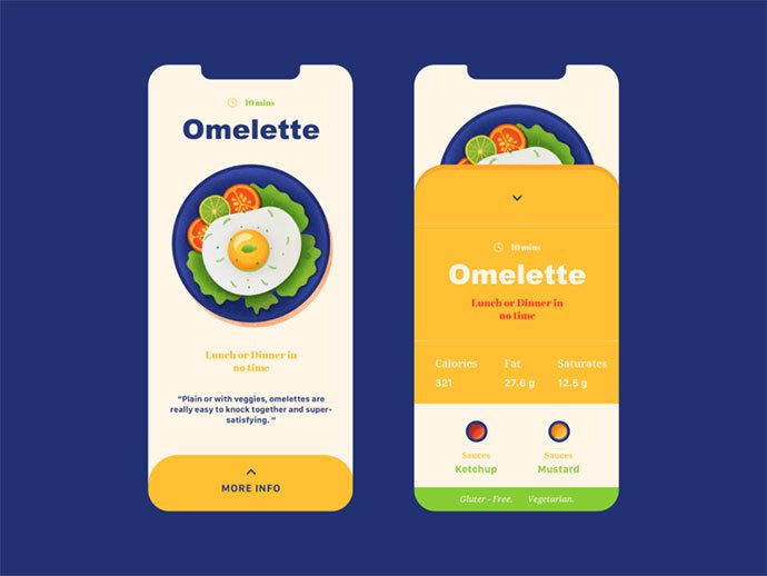 food-drink-app-ui-design-18 - 51+ Stunning Food & Drink Mobile App UI Design Sample [year]