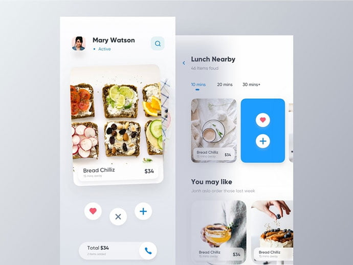 food-drink-app-ui-design-19 - 51+ Stunning Food & Drink Mobile App UI Design Sample [year]