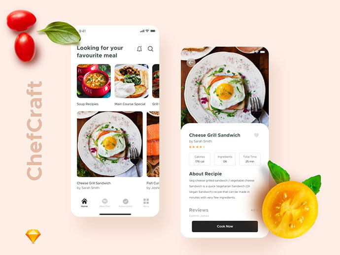 food-drink-app-ui-design-22 - 51+ Stunning Food & Drink Mobile App UI Design Sample [year]