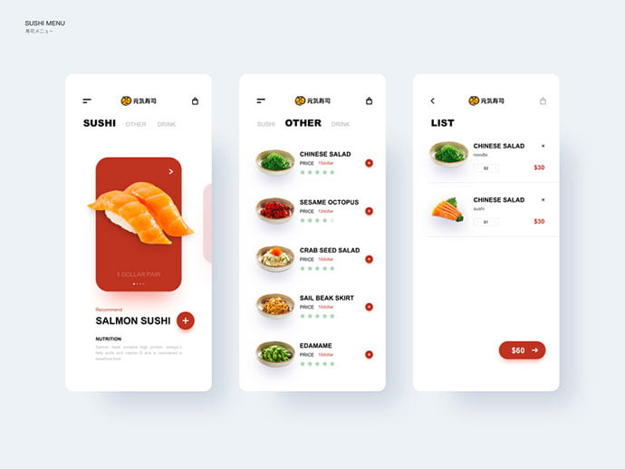 food-drink-app-ui-design-24 - 51+ Stunning Food & Drink Mobile App UI Design Sample [year]