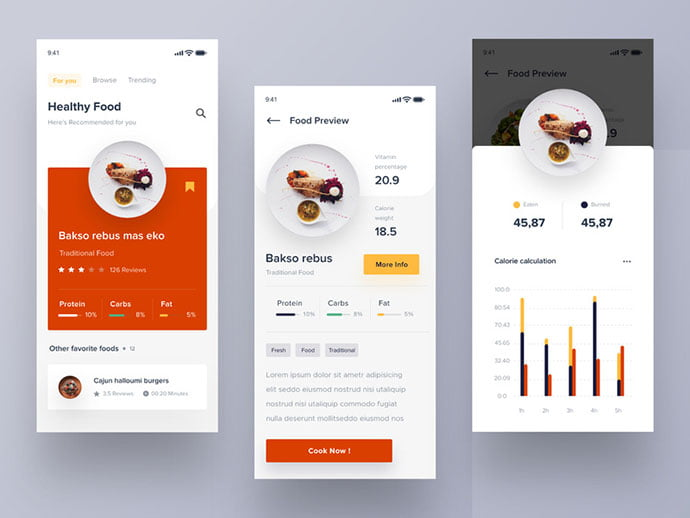 food-drink-app-ui-design-25 - 51+ Stunning Food & Drink Mobile App UI Design Sample [year]