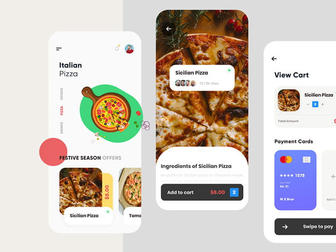 food-drink-app-ui-design-27 - 51+ Stunning Food & Drink Mobile App UI Design Sample [year]