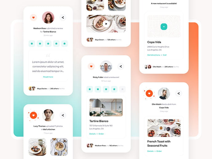 food-drink-app-ui-design-29 - 51+ Stunning Food & Drink Mobile App UI Design Sample [year]