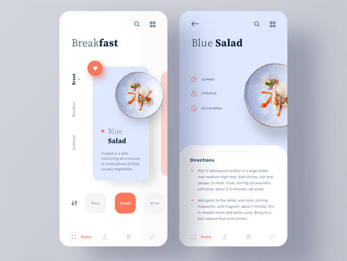 food-drink-app-ui-design-3 - 51+ Stunning Food & Drink Mobile App UI Design Sample [year]
