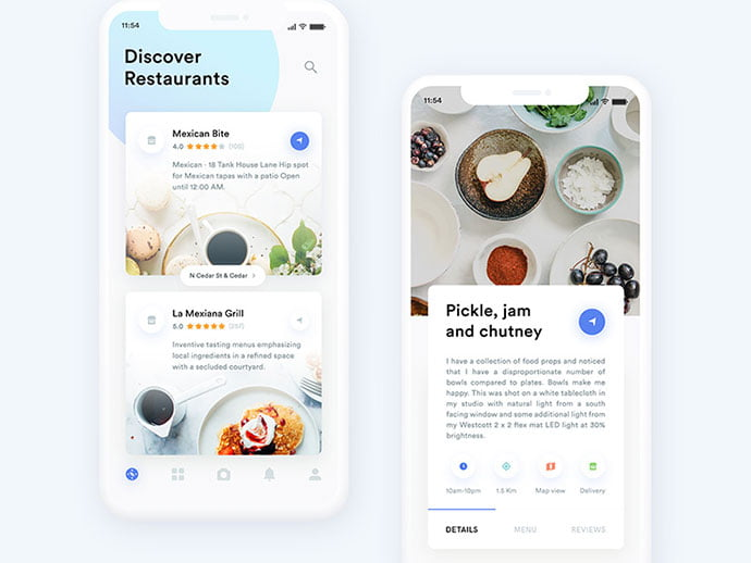 food-drink-app-ui-design-31 - 51+ Stunning Food & Drink Mobile App UI Design Sample [year]