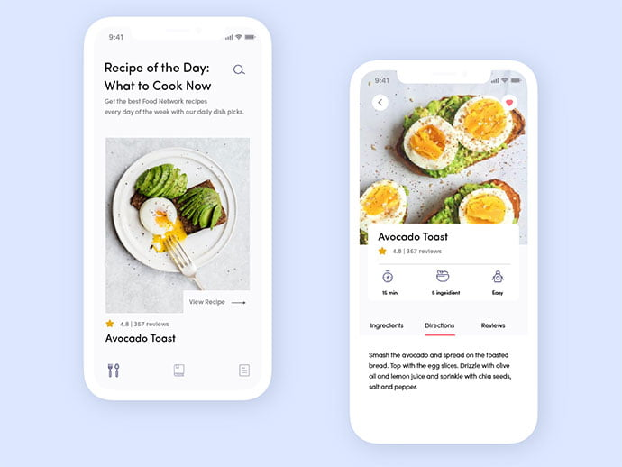 food-drink-app-ui-design-32 - 51+ Stunning Food & Drink Mobile App UI Design Sample [year]
