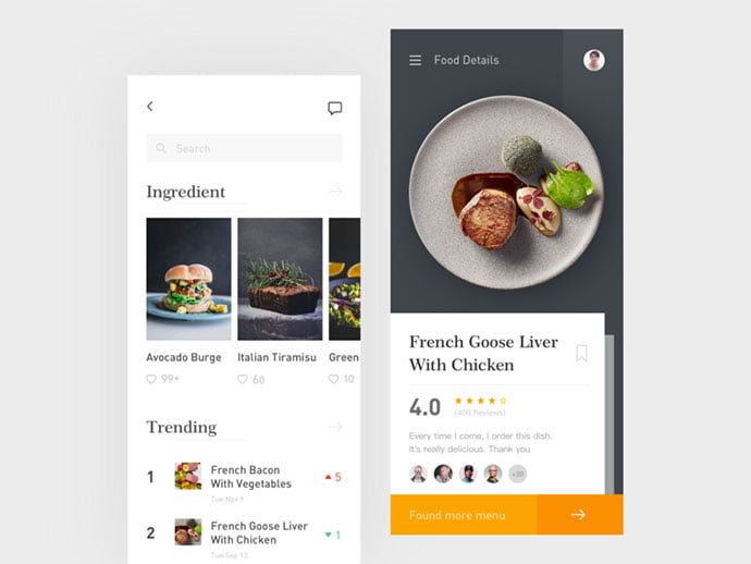 food-drink-app-ui-design-37 - 51+ Stunning Food & Drink Mobile App UI Design Sample [year]