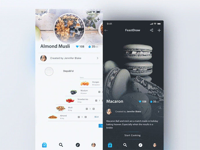 food-drink-app-ui-design-40 - 51+ Stunning Food & Drink Mobile App UI Design Sample [year]