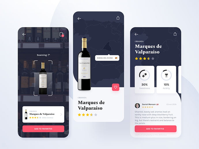 food-drink-app-ui-design-7 - 51+ Stunning Food & Drink Mobile App UI Design Sample [year]