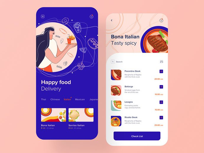 mm - 51+ Stunning Food & Drink Mobile App UI Design Sample [year]
