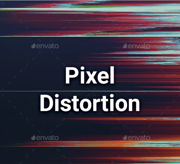 120-Pixel-Distortion-Backgrounds - 38+ FREE Distorted Typography Designs [year]