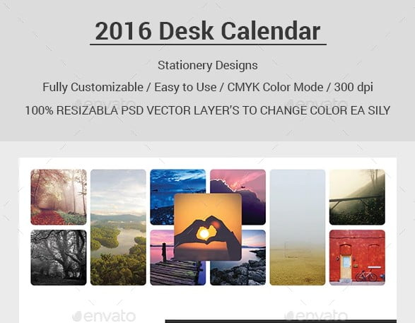 2016-Desk-Calendar - 38+ Free Innovative Calendar Design Example [year]