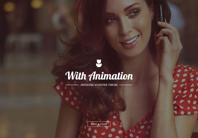 222 - 32+ Impressive Retro Cool WordPress Themes [year]