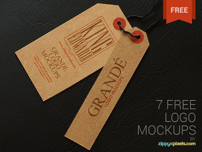 7-Free-Photorealistic - 40+ Nice Free PSD Showcase Logo For Designer [year]