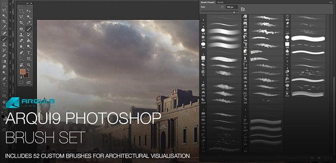 Arqui9Learn-Photoshop-Brush-Set - 44+ Nice Free Photoshop Brush Sets For Designer [year]