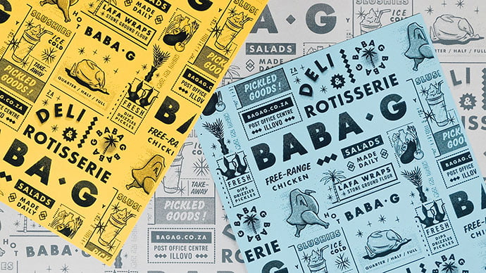 Baba-G - 38+ Free Brilliant Retro & Vintage Brand Designs [year]