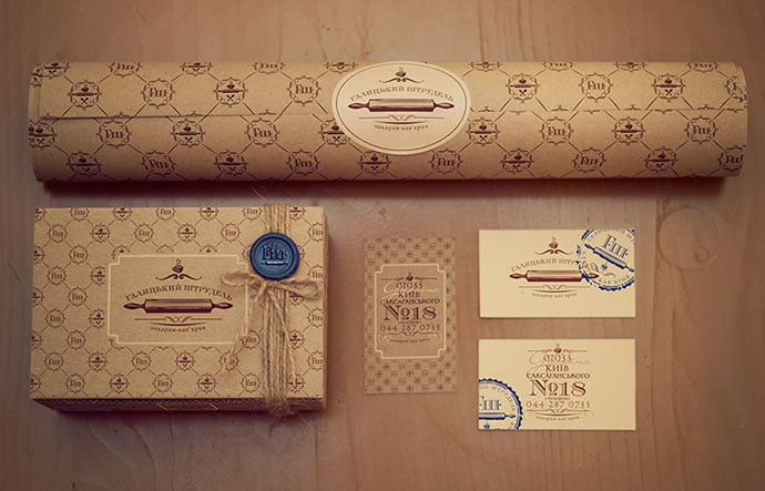 Branding-For-Cafe-bakery - 38+ Free Brilliant Retro & Vintage Brand Designs [year]